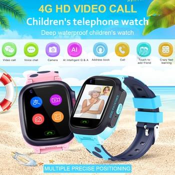 Y95 4G сеть Детские телефонные часы Видеозвонок WiFi свидания gps позиционирование ребенок Sos анти-потеря сигнализации спортивные часы трекер