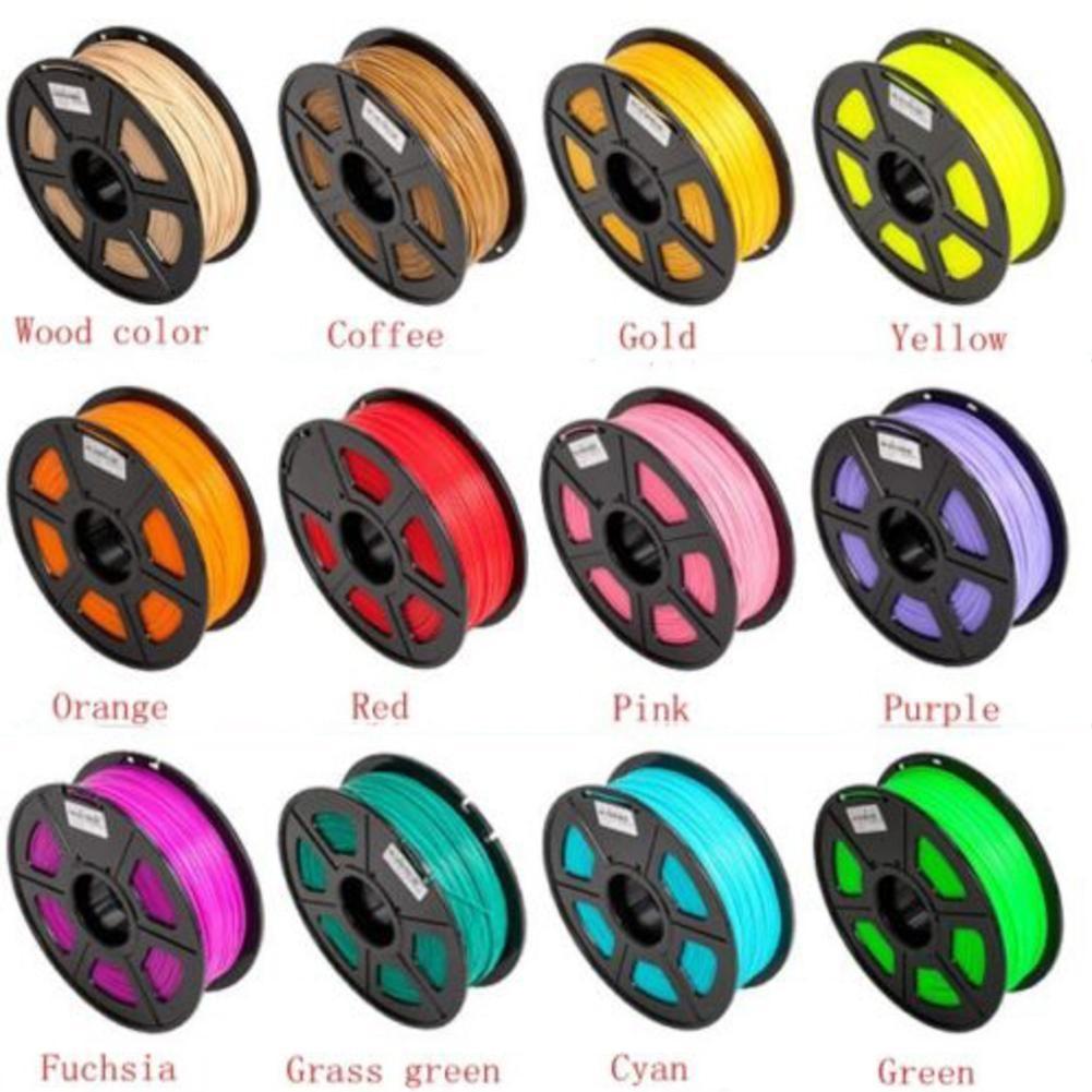 1 prix 17 couleur 3D stylo d'impression fournitures ABS/PLA 1.75mm plastique caoutchouc matériel d'impression pour 3D imprimante stylo Filament