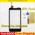 New Original For Lenovo P770 Touch Screen with digitizer Replacement Parts  External screen black + Tool Free shipping