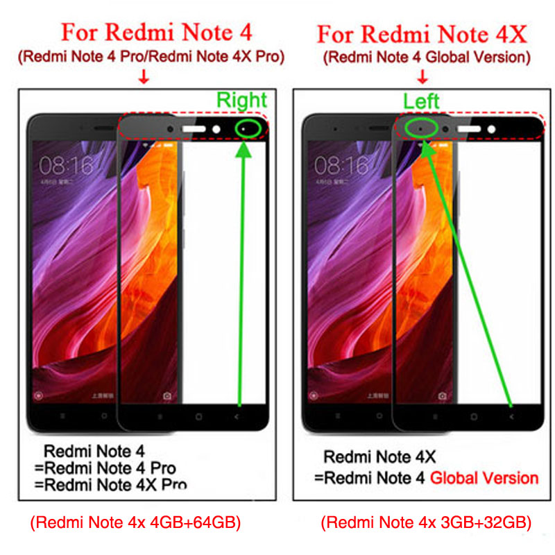 Image 2 - 2Pcs/Lot Full Cover Tempered Glass For Xiaomi Redmi 4X 4 Prime 4A 3S 3X Note 4 4X 3 Screen Protector For Redmi Note 8 7 6 5 Pro-in Phone Screen Protectors from Cellphones & Telecommunications on
