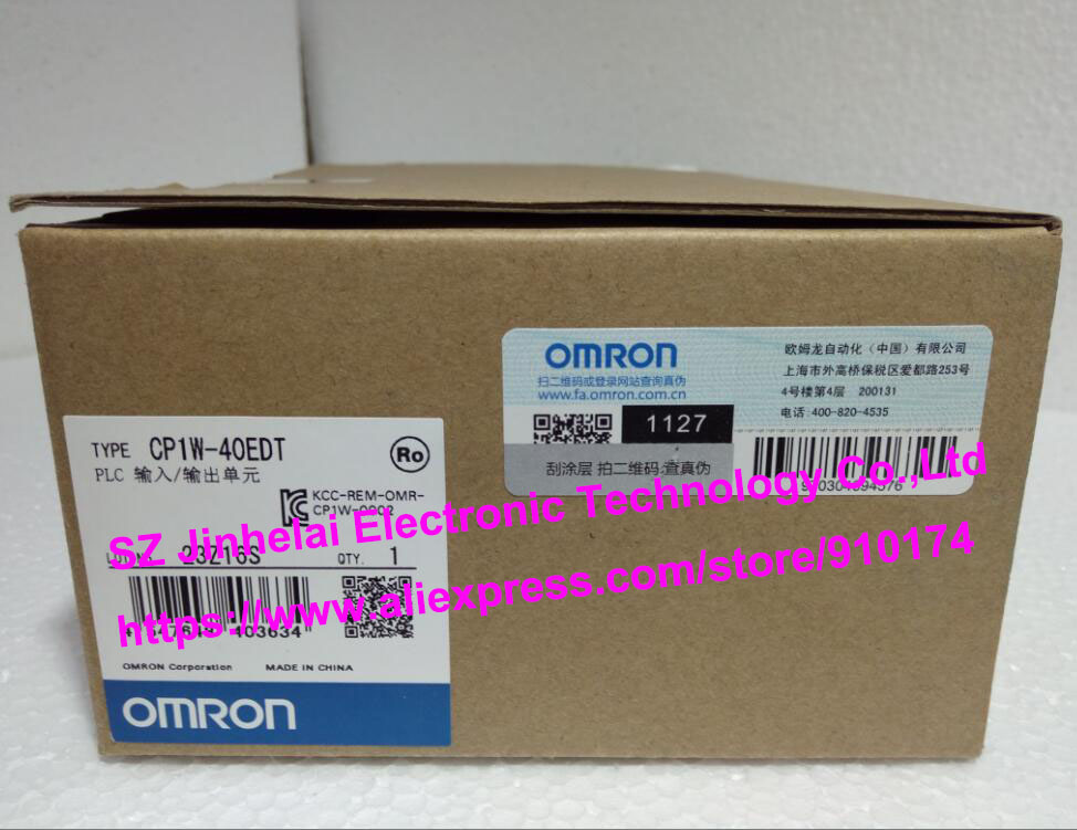 New and original  CP1W-40EDT  OMRON PLC INPUT/OUTPUT UNIT 100% new and original cj1w nc433 omron position control unit