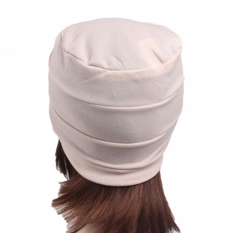 Haimeikang Delle Donne di Inverno Strass Cappello Turbante Cappelli Per Le Donne  Elegante Tappo Chemio Sciarpa Della Fascia Testa Wrap Caps Copricapo in ... 76f30ecaddc9