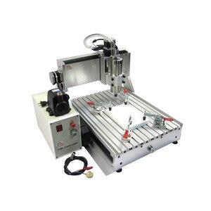 Image 2 - LY CNC 3040 4 ציר usb Z VFD 1500W ציר עץ כרסום מכונת 1.5KW מתכת חרט נתב עם מתג הגבלה