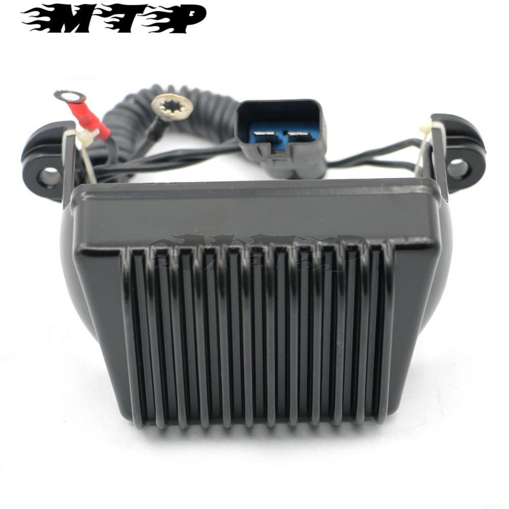 Motorcycle Voltage Regulator Stabilized Rectifier For Harley Touring Electra Glide FLTH Road Glide FLTR Road King FLHR 1997-2001 nc dc dc dc adjustable voltage regulator module integrated voltage meter 8a voltage stabilized power supply