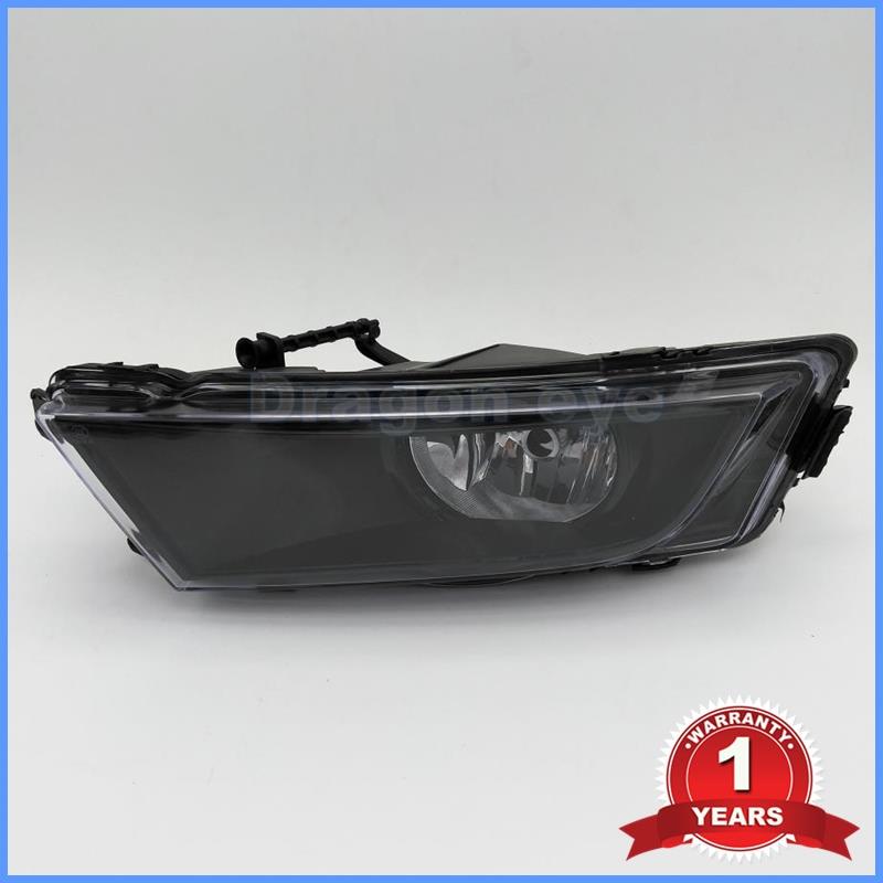 ФОТО Free Shipping For Octavia A7 2013 2014 2015 2016 New Front Halogen Fog Light Fog Lamp Driver Side Black