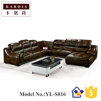 Import Furniture From China Living Room Sleeper U Shape Sectional Luxury Sofa