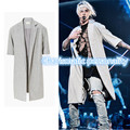 high fashion mens South Korea Hip hop The cloth sleeve kanye west JUSTIN BIEBER OVERCOAT jackets and coats gd clothing S-XL
