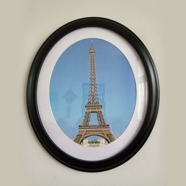Round Photo Frame Diy Wooden Photo Frames Hanging Wall Mounted