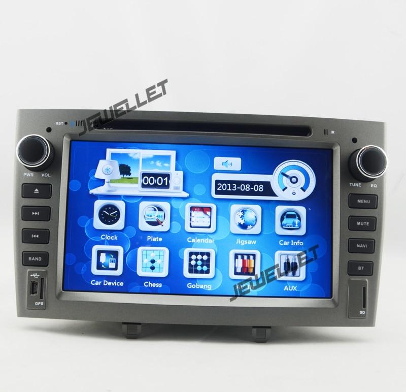Voiture GPS radio DVD Navigation pour Peugeot 308 408 avec Bluetooth, Ipod 1080 P et GPS radio carte