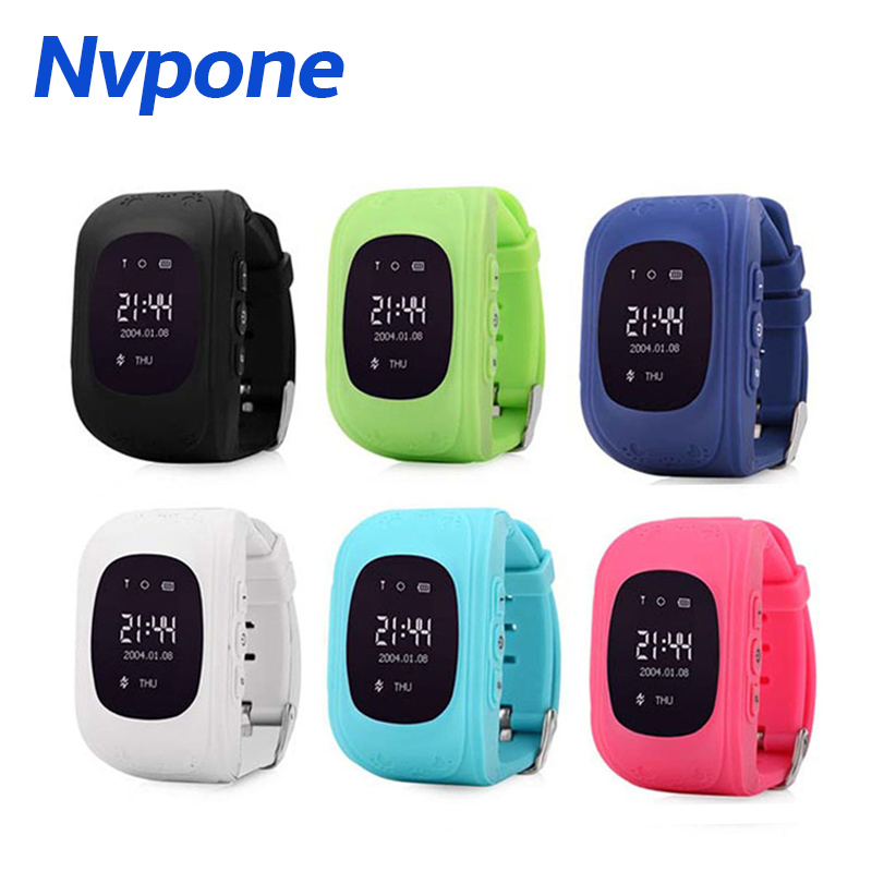 <font><b>Q50</b></font> Smart watch Children <font><b>Kid</b></font> Wristwatch GSM GPRS GPS Locator Tracker Anti-Lost SOS <font><b>Smartwatch</b></font> Child Guard for iOS Android image