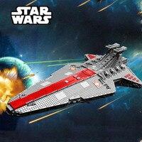 6125PCS Star Wars The Ucs ST04 Set Republic Cruiser Educational Building Blocks Bricks Toys Compatible With Legoings Star Wars