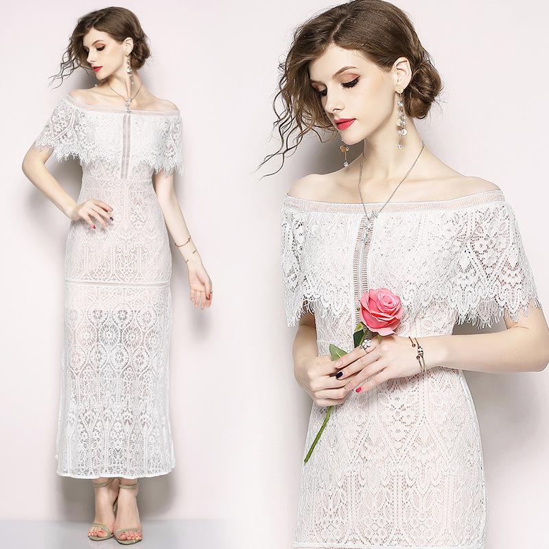 Aliexpress.com : Buy White Full Lace Wedding Dresses