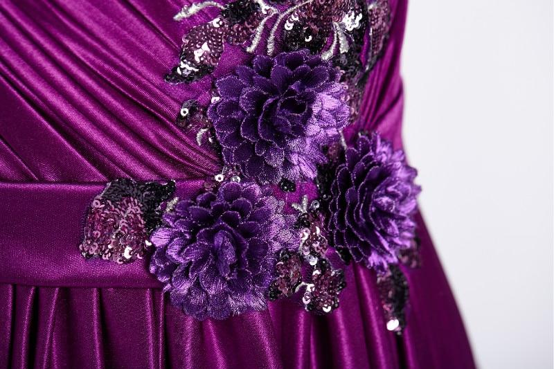 W.JOLI 2017 Beading Appliques Long Evening Dress Brude Bankett - Spesielle anledninger kjoler - Bilde 5