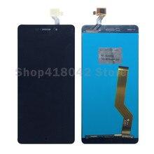 """5.5 """"для Elephone P9000 ЖК-дисплей Дисплей с Сенсорный экран планшета Ассамблеи черный белый цвет; Бесплатная доставка"""