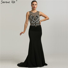 2019 O-Neck Sleeveless Mermaid Prom Dresses Serene Hill