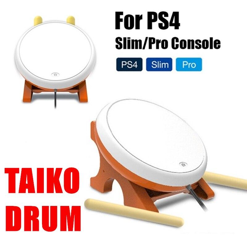 Taiko tambour pour PS4/SLIM/PRO Console Joy-Con contrôleur de jeu