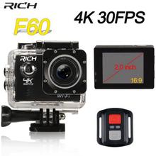 RICH action Camera 30fps Video Sports Camera wifi 1080P Waterproof DV underwater cameras sport action cam 4k