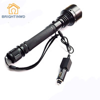 BRIGHTINWD Led Charging Flashlight Outdoor Riding Lighting Hunting and Self defense Supplies LED Car Charger