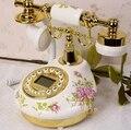 Европейский ретро TQJ керамика антикварные телефоны фиксированной телефон гостиная стационарный аон