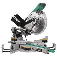 1PC SM3057R Dual Sliding Compound Mitre Saw Machine 305mm Miter Saw 220V Slide Bar Woodworking Angle Oblique Cutting Machine
