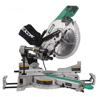 1PC SM3057R Dual Sliding Compound Mitre Saw Machine 305mm Miter Saw 220V Slide Bar Woodworking Angle Oblique Cutting Machine