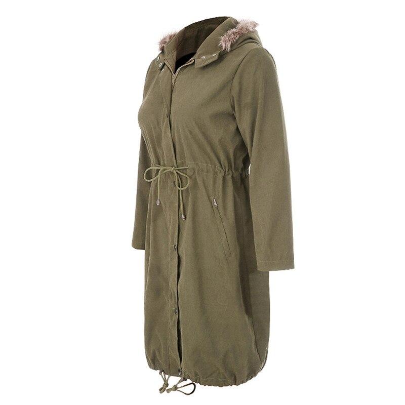 Mode bébé transporteur veste kangourou mince maternité Hoodies vêtement d'extérieur pour femmes automne manteau pour femmes enceintes vêtements de maternité - 3