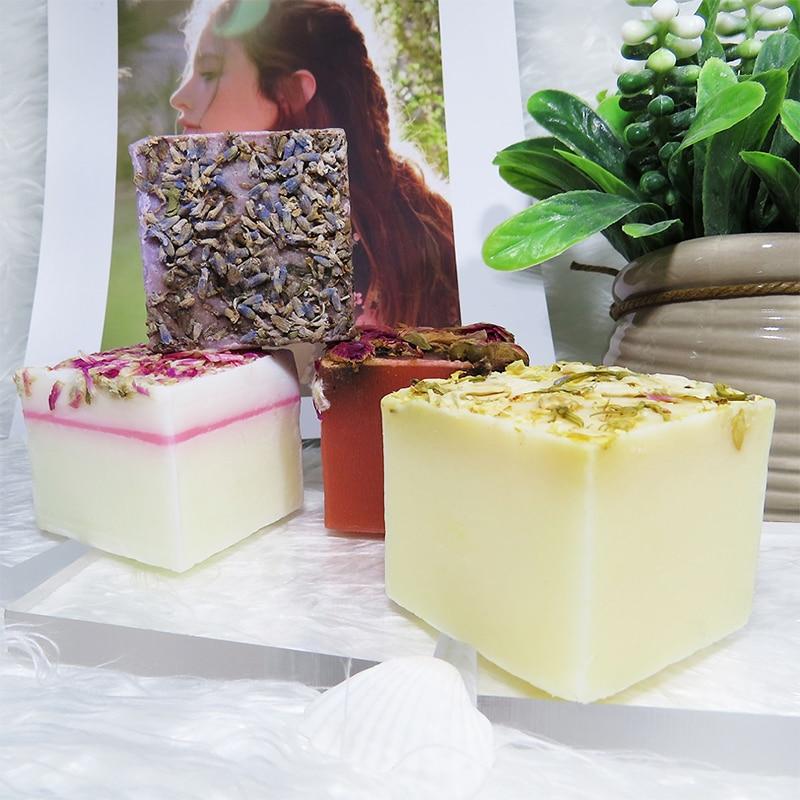 Reiniger KöStlich Omylady Kühlung Blume Handgemachte Seife 100% Reinen Pflanzen Ätherisches Öl Seife Für Bad Gesicht Reiniger Tief Rein Feuchtigkeits Haut