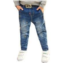Boy Leggings Children Korean Clothes Jeans For Boys Tiny Cottons Autumn 2017 Fashion High Quality NZK0099