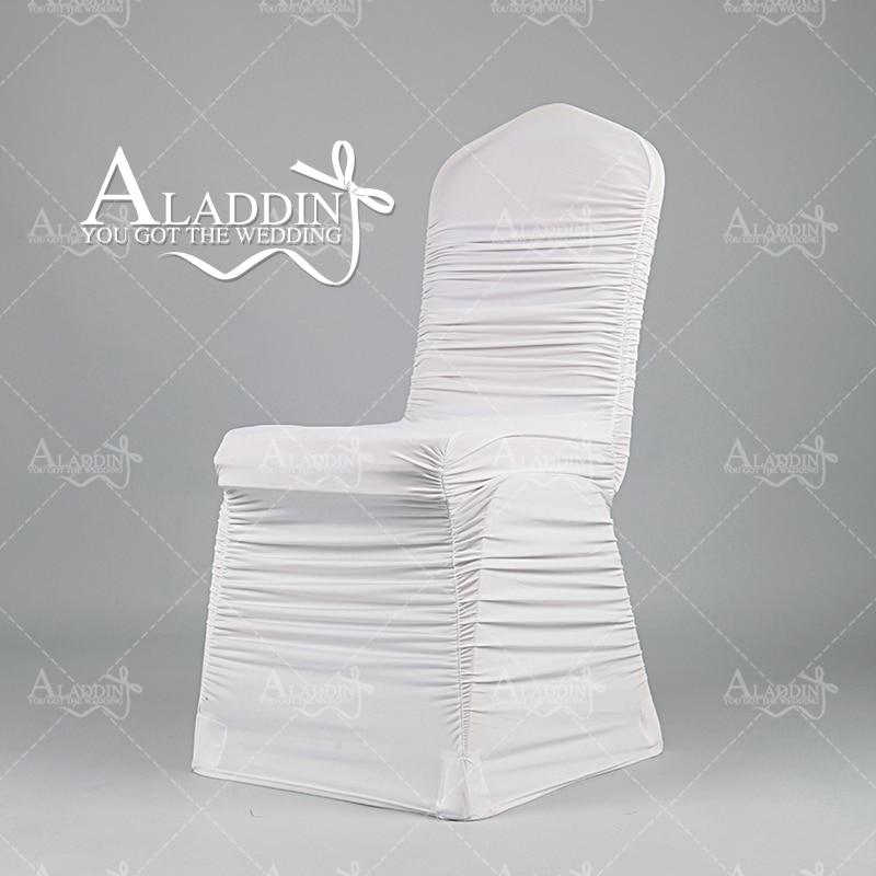 Silla con funda elástica blanca al por menor con cubierta de silla - Textiles para el hogar