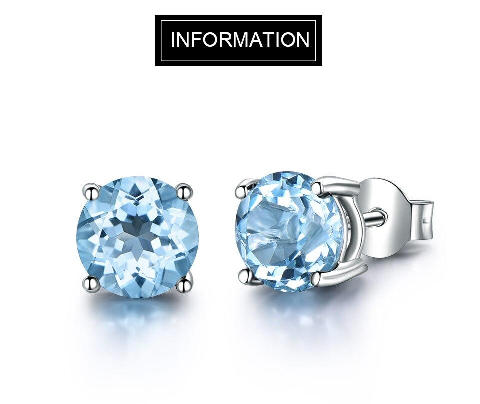 UMCHO-sky blue topaz earringss for womenEUJ002B-1 (2)