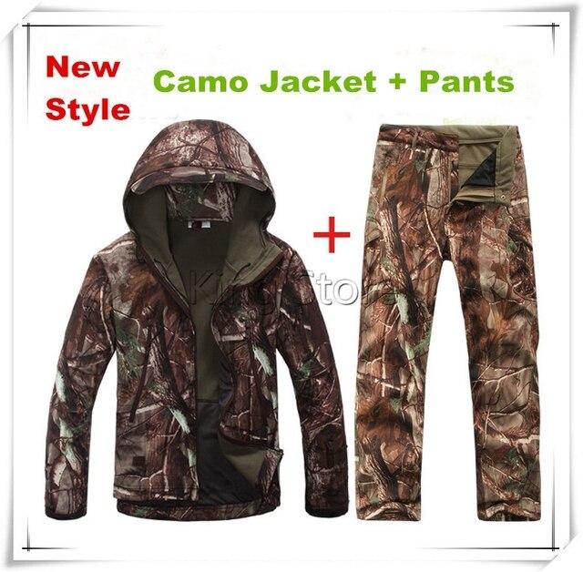 Tactique Soft Tad Shell Extérieure Uniforme Costume Veste FFa1t