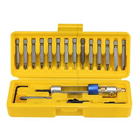 TG69 20 bits Half Time Drill High Speed Screwdriver Head 20bits Drill Driver Set Tools bdcat half time drill high speed steel drill driver double use hand screwdriver head with storage box multi functional tools