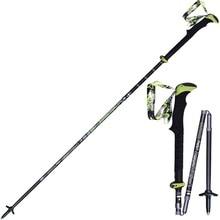 1 Pair Outdoor Ultra-light Folding Nordic Walking Poles Carbon Fiber Trekking Poles Trekking Stick Alpenstock Walking Sticks