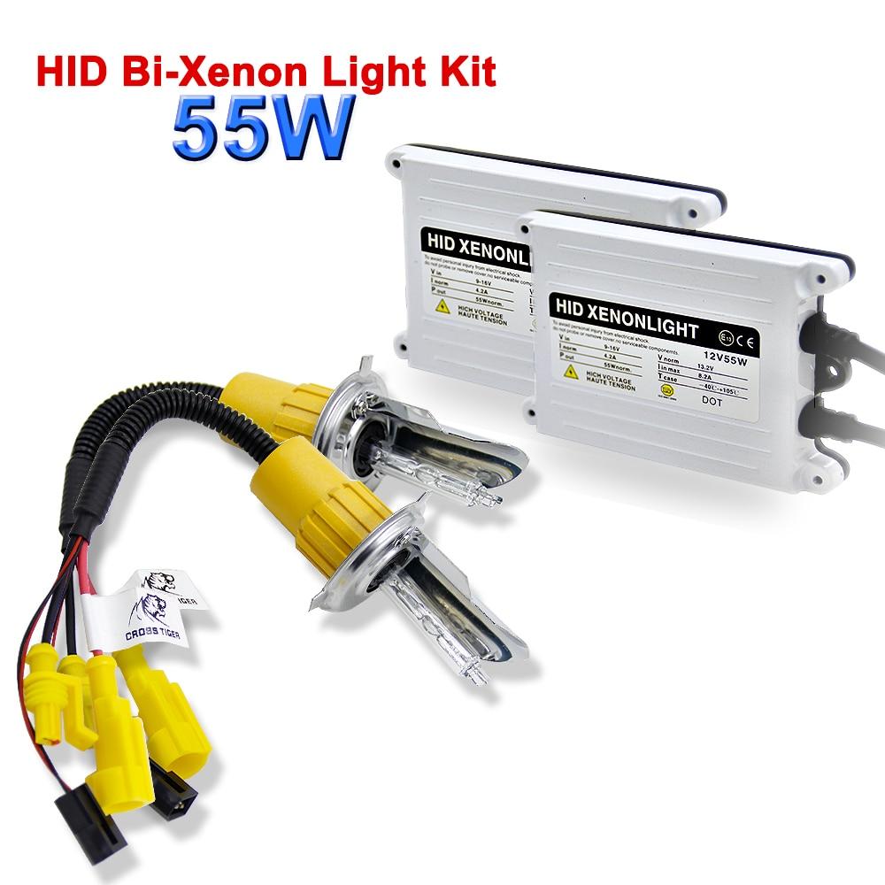 AC Ballast HID Kit Ignition Unit Block 9005 hb3 hb4 9006 H1 H4 H7 H8 H9 H11 Xenon Light Lamp 55W 6000K Car Auto Headlight Bulbs in Car Headlight Bulbs Xenon from Automobiles Motorcycles