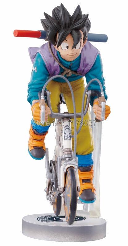 Vogue Classic Japan Anime Comic Akira Toriyama Dragon Ball Son Goku Kakarotto Bike 16cm Figure Toys New Box Son Goku Dragon Ballfigure Toy Aliexpress
