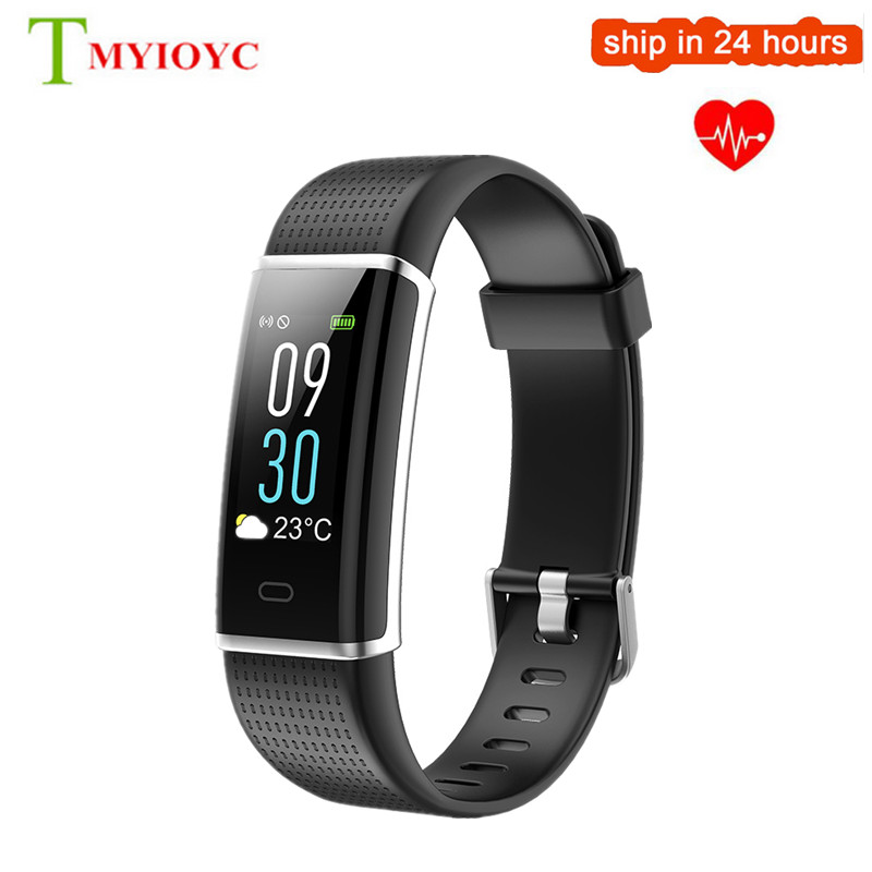 ID130 más HR Fitness pulsera Color IP67 impermeable ID130Plus Smart Band ID130 HR Monitor de ritmo cardíaco Smart Wristbands