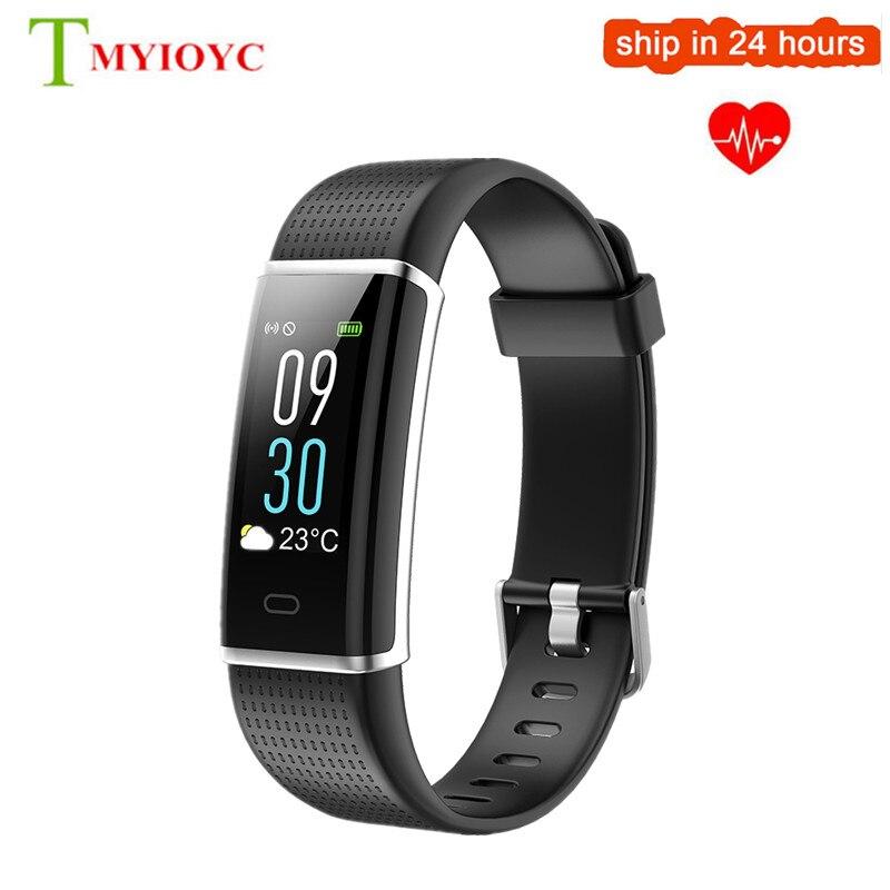 ID130 más HR Fitness pulsera Color IP67 impermeable ID130Plus Smart Band ID130 HR Monitor de ritmo cardíaco Smart Wristbands