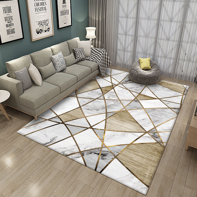 Marble Carpet Nordic Carpets Rug 3D printed Living room Bedroom Large Child Climbing Mats Yoga Pad Mat Home Decor Coffee Table image