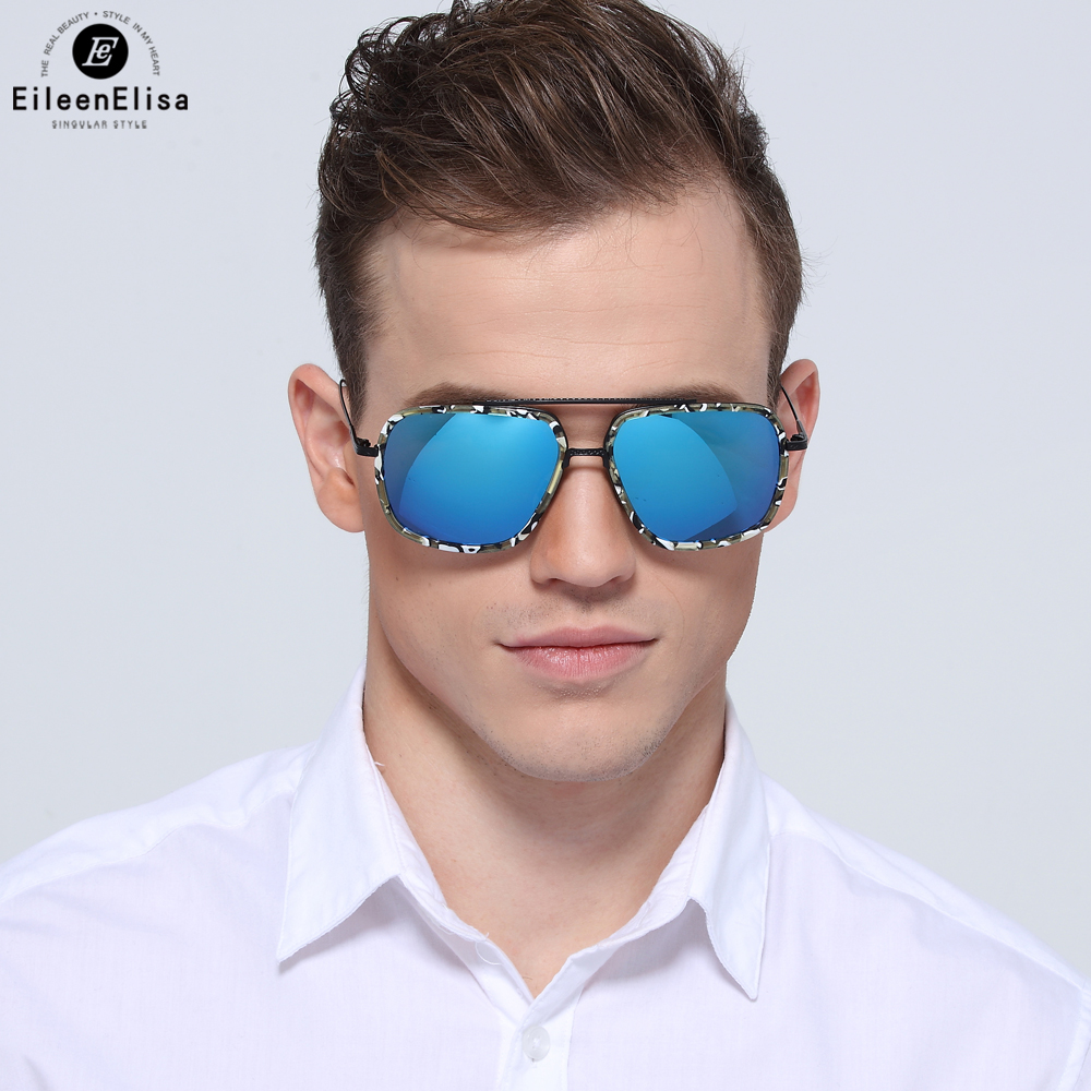 EE Hot Sale Designer Square Sunglasses Men Sun Glasses Brand Women Black