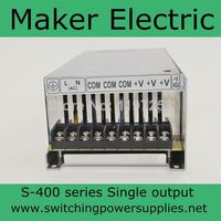 Factory outlet ! metal case output 15V 25A 400w power supply (S 400 15)