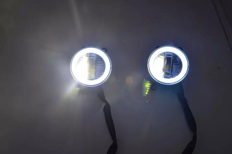 DRL фары дневного света + ангельские глаза + ксеноновая лампа для RENAULT, Сузуки Альто, сплеш, Тойота, для Nissan, для спот Ровер