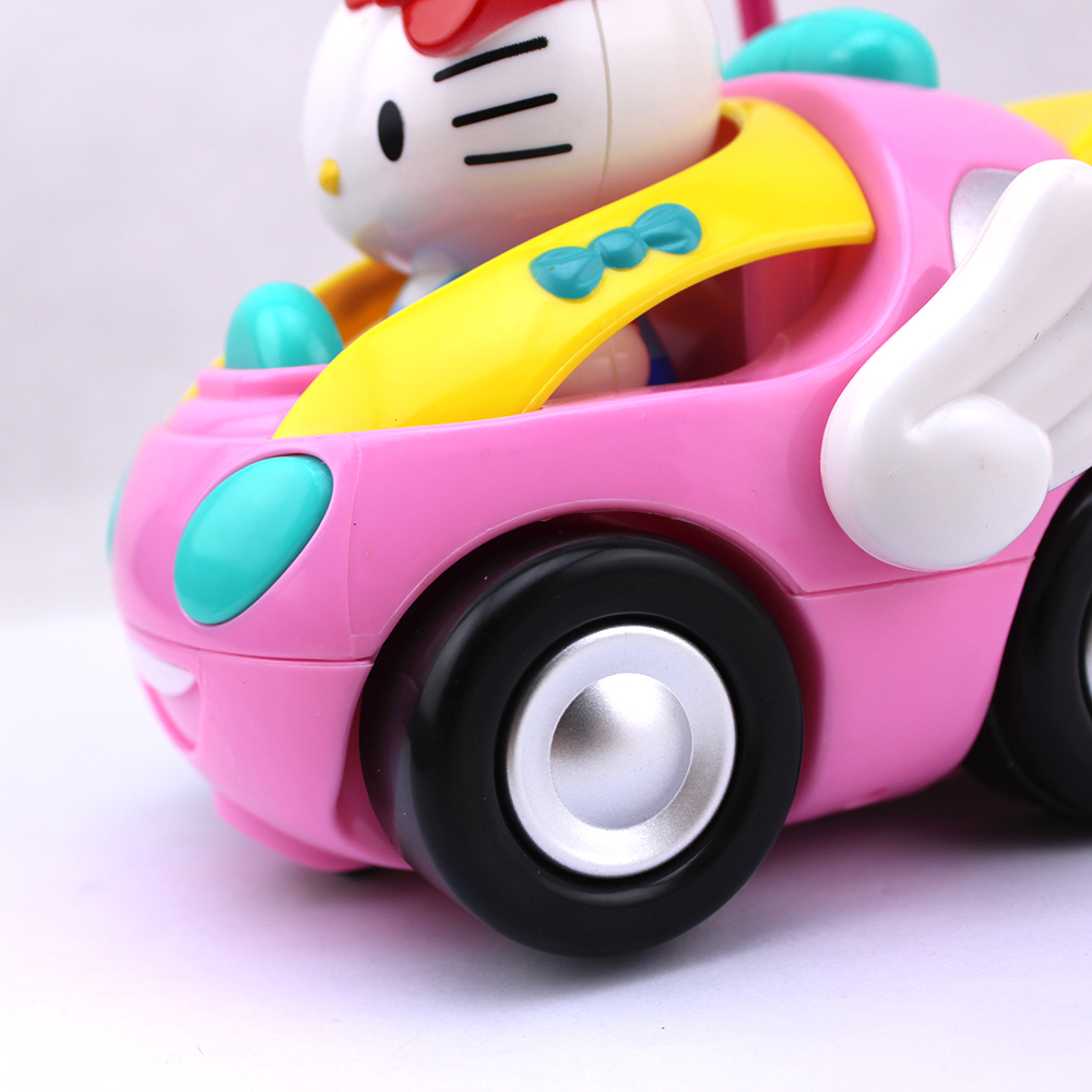 Hello Kitty Electric Car Motor: Brand New RC Car Free Shipping Children's Cartoon Kitty