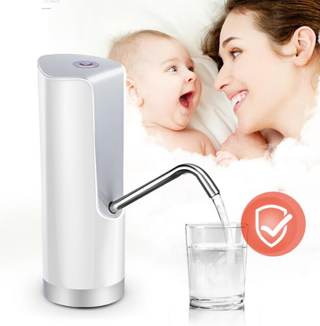 2017 New Water cooler tap water dispenser parts 304 stainless steel wireless electric bottled water pumping unit Free shipping water cooler tap water dispenser parts 304 stainless steel wireless electric bottled water pumping unit mineral water pump