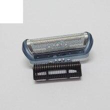 1 conjunto Barbeador/Substituição Navalha Foil & Cortadores para BRAUN CruZer 1 2 3 4: Z20 Z30 Z40 Z50 Z60 2615, Série 1000 170 180 190 1715 1775