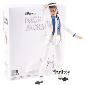 Певец Майкл фигурка костюм Майкла Джексона на Хэллоуин антигравитационный Lean MJ Jackson фигурка кукла игрушка 15,5 см >> Shenzhen Zhongke Co., Ltd