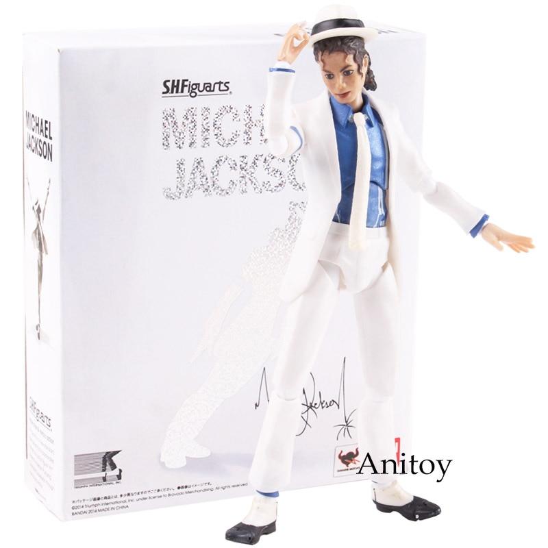 Cantante Michael Jackson figura Smooth Criminal Anti-gravedad magra Michael Jackson acción figura Figura muñeca de juguete 15,5 cm