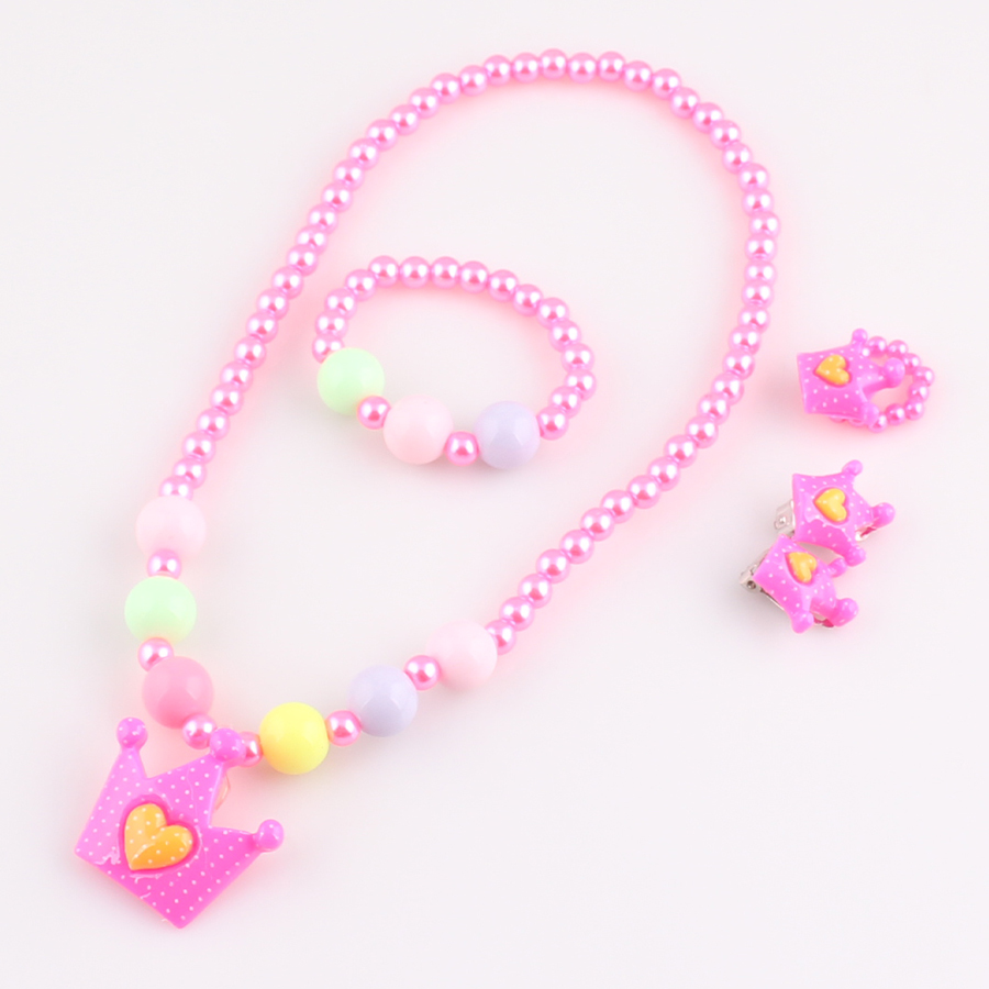 2017 New Candy Color Children Necklace s