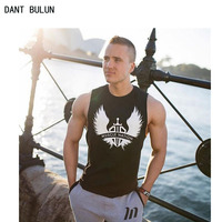 DANT BULUN Musculation Vest Bodybuilding Clothing And Fitness Men Undershirt Solid Tank Tops Blank Golds Men