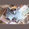 Мода Проблемных Джинсы Короткие Брюки для BJD Куклы 1/4, 1/3 SD10/13, SD16 LUTS. AS. DZ. SD Одежды Куклы CWB30