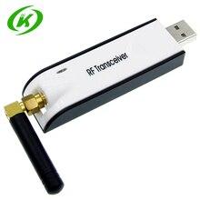 433Mhz CC1101 USB bezprzewodowy moduł nadawczo odbiorczy rf 10mW USB UART MAX232 RS232 niska moc przezroczysta transmisja danych